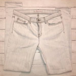 J Brand | Skinny Light Gray Polar Mid Rise Jean 29